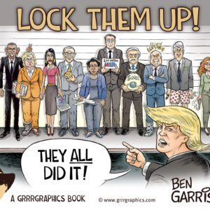 Ben Garrison Signed Cartoon Books